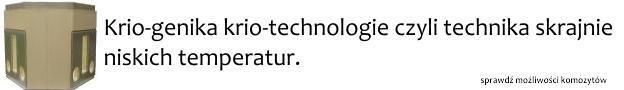 kriogenika krio technologie wats kompozyty minus 120 Przemysł